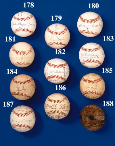 1962 NEW YORK METS BASEBALL