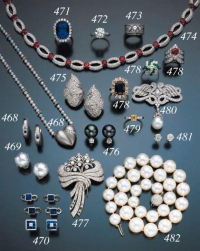 DIAMOND AND CULTURED PEARL BIR