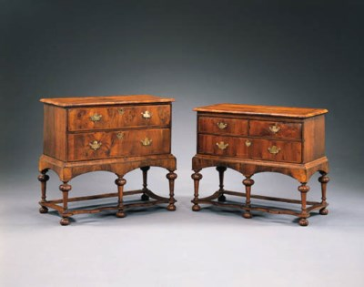 A MATCHED PAIR OF GEORGE I WAL