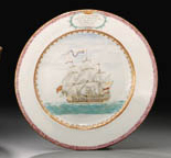 A DATED SHIPPING PLATE