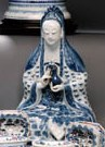 A BLUE AND WHITE GUANYIN