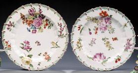 TWO CHELSEA PLATES