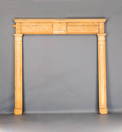 A PAIR OF GEORGE III PINE AND