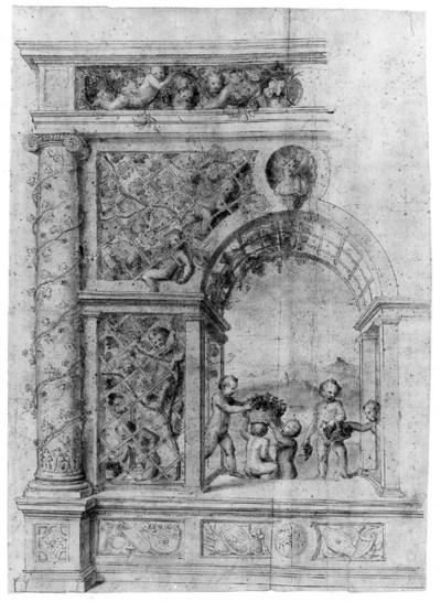Circle of Giulio Pippi, called