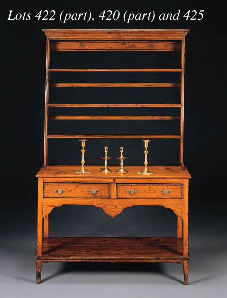 A GROUP OF GEORGE III STYLE BR