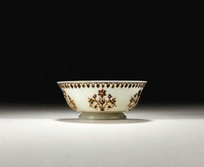 A white jade bowl