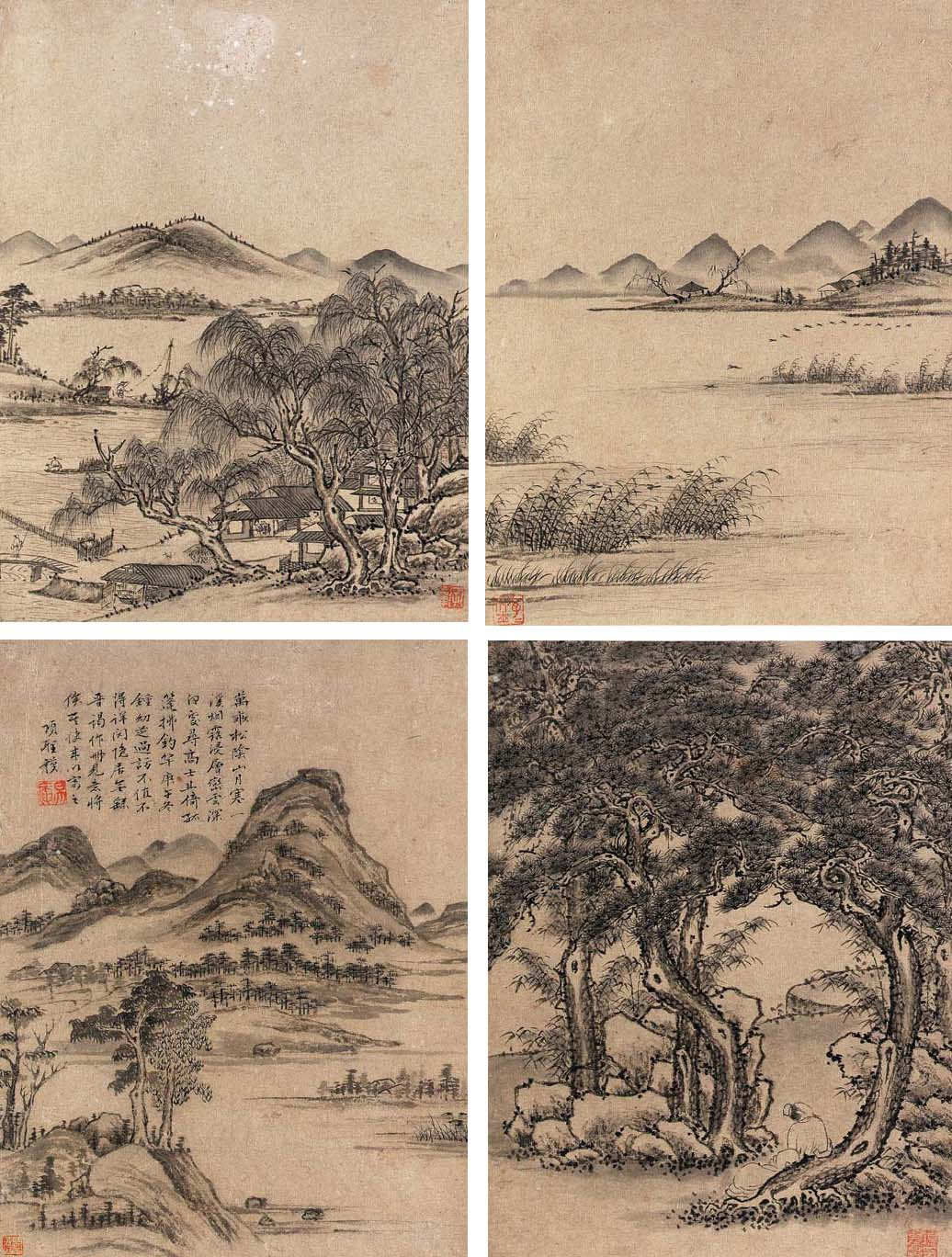XIANG SHENGMO (1597-1658)   Landscapes   Christie's