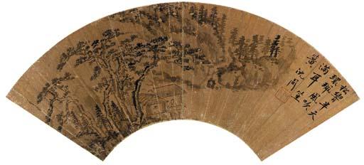 SHEN ZHOU (1427-1509); XIE SHI