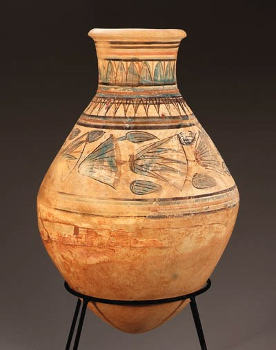 AN AMARNA POTTERY JAR