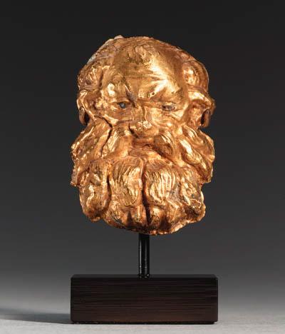 A GREEK GOLD APPLIQU
