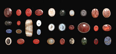 A COLLECTION OF ROMAN INTAGLIO