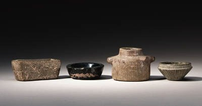 FOUR ANCIENT NEAR EASTERN STON