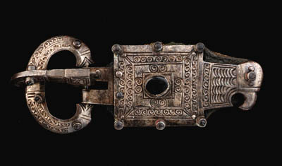 AN OSTROGOTHIC SILVER EAGLE-HE
