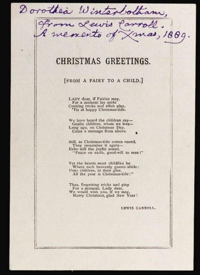 DODGSON, Charles Lutwidge (