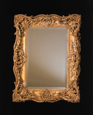 AN EARLY LOUIS XV GILTWOOD PIC