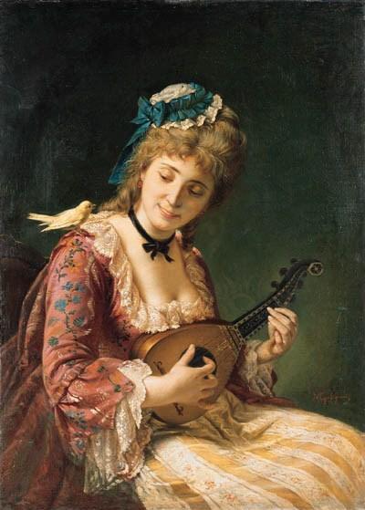 MICHELE GORDIGIANI (1835-1909)