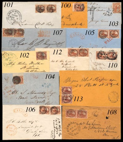cover 1853 (2 Apr.) envelope f