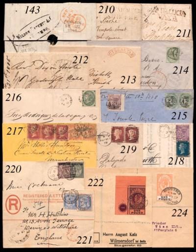 cover 1879 (11 Aug.) envelope