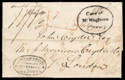 cover 1838 (24 Oct.) entire le