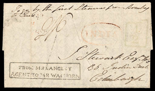 cover 1839 (21 June) entire le