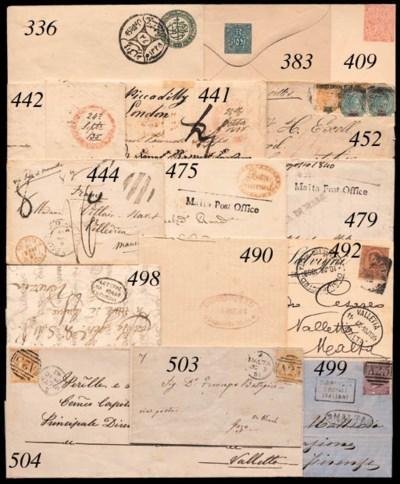 cover POSTAL STATIONERY: 1874
