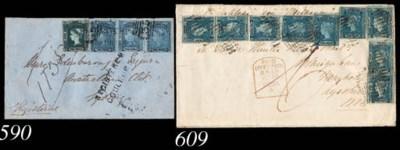 cover 2d. ultramarine, Plate I