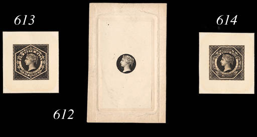 Proof  6d. stamp-size in black