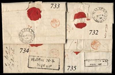 cover 1792 (Mar.) entire lette
