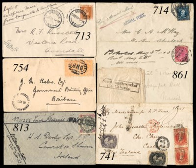 cover 1903 (7 May) envelope to