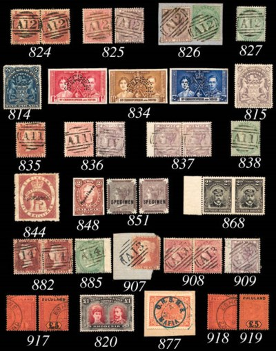 used  1894-96 £1 and £5, each
