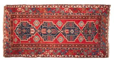 A large Kazak rug