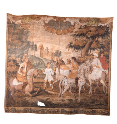 A Flemish tapestry cartoon