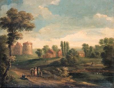 Circle of Pieter Gysels (1621-