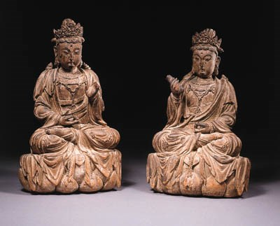 two fine chinese, yuan dynasty
