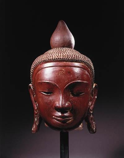 a monumental burmese, ava styl