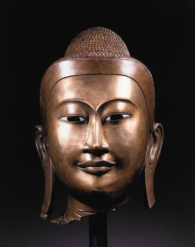 a monumental burmese, mandalay