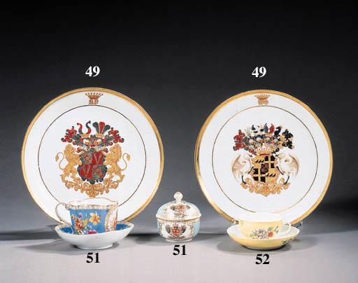 a german armorial part tea- an