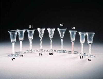 four various opaque-twist wine