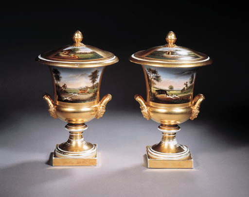 a pair of paris two-handled gi