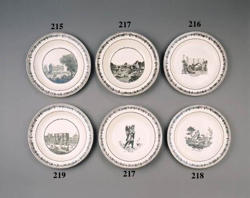twenty-eight creil creamware p