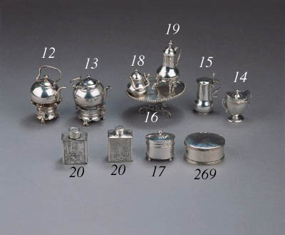 A Dutch silver kettle on stand