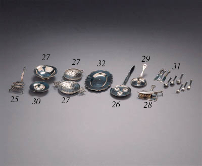 A Dutch silver part flatware s