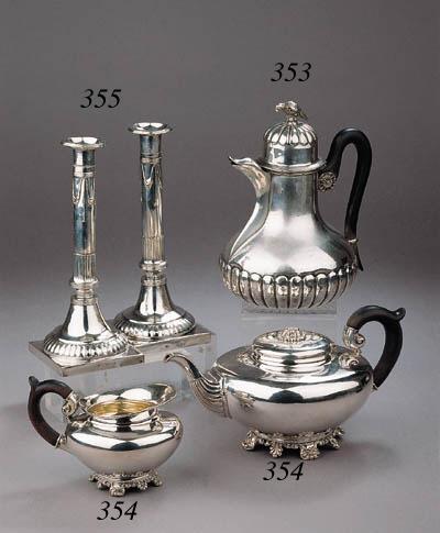 A pair of silver Austria-Hunga