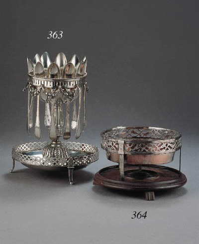 A German silver sauce boat, a