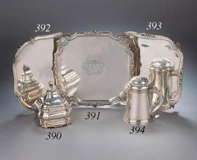 A Dutch silver salver