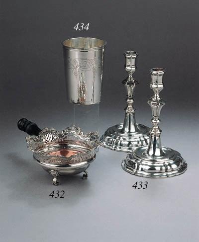 A German silver beaker
