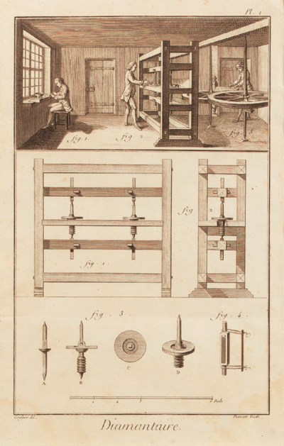 A SET OF FOUR ENGRAVINGS