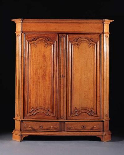 A Franco Flemish oak armoire