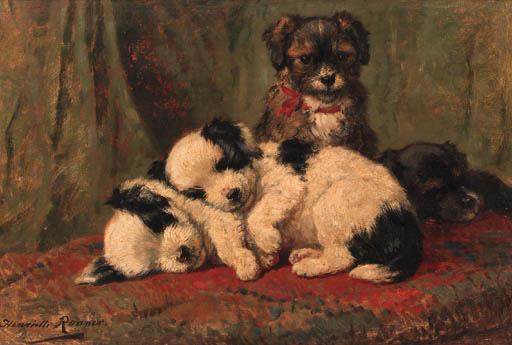 Henritte Ronner (1821-1909)