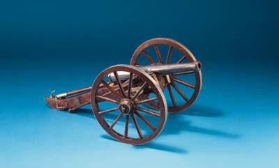 A model of a 19th century fiel